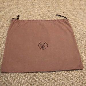 Authentic Hermes Dust Bag